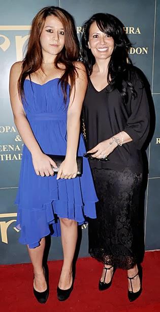 Ayesha with Krishna Shroff